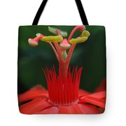 Passion Flower Crown Tote Bag