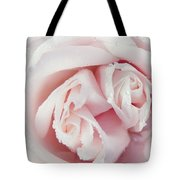 Passion For Flowers. One Rose Two Hearts Tote Bag