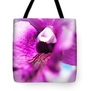Passion For Flowers. Orchid Close Up Tote Bag