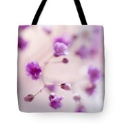 Passion For Flowers. Purple Pearls Of Gypsophila Tote Bag