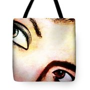 Passionate Eyes Tote Bag