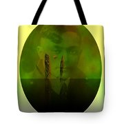 Past And Future Meet Tote Bag