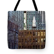 Past And Present 3 Tote Bag