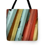 Pastel Chairs Still Life 2 Tote Bag