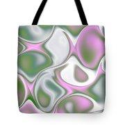 Pastel Colored Teardrop Fractal Tote Bag