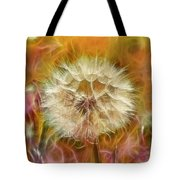 Pastel Dandelion Flare Tote Bag