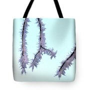 Pastel Glow On The Frost Tote Bag