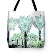 Pastel Palms Tote Bag