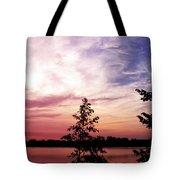 Pastel Pink Sunset Tote Bag