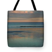 Pastel Reflections On The Coast Tote Bag