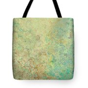Pastle Green Stone Tote Bag