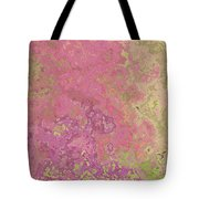 Pastle Pink Stone Tote Bag
