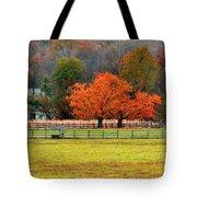 Pastoral Autumn Tote Bag