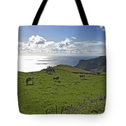 Pastoral Landscape Of Santa Maria Island Tote Bag
