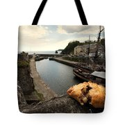 Pasty On The Harbour Tote Bag