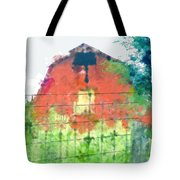 Patched Up  Art Tote Bag