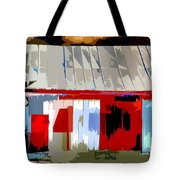 Patchwork Barn Tote Bag