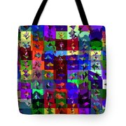 Patchwork Quilt Tote Bag