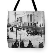 Patent Office During Presidential Inauguration - Washington Dc - C 1889 Tote Bag