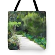 Path Into The Green Tote Bag
