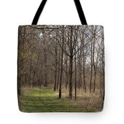 Path Of The Trees Tote Bag