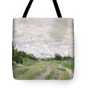Path Through The Vines At Argenteuil Tote Bag