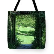 Path To The Green Tote Bag