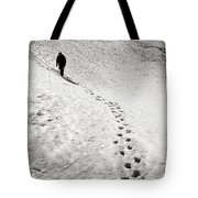 Path To The Summit Tote Bag by Konstantin Dikovsky