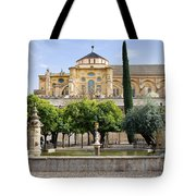 Patio De Los Naranjos At Mezquita In Cordoba Tote Bag