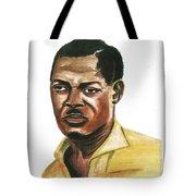Patrice Lumumba Tote Bag