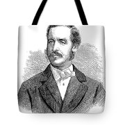 Patrick Sarsfield Gilmore (1829-1892). American (irish-born) Bandmaster And Composer. Wood Engraving, American, 1869 Tote Bag