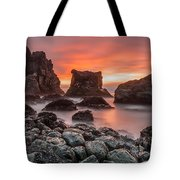 Patrick's Point Sunset Tote Bag
