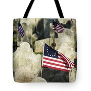 Patriot Cemetery Tote Bag