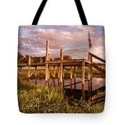 Patriotic Dock Tote Bag