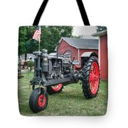 Patriotic Farmall Tote Bag