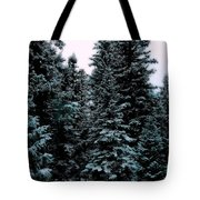 Pat's Winter Trees 1d Tote Bag