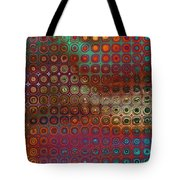 Pattern Study I Reflections Tote Bag