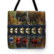 Patterns Of Reflection Tote Bag