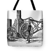 Paving Machine, 1879 Tote Bag