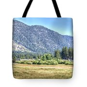 Peace At Kahle Park Tote Bag