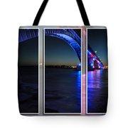 Peace Bridge 01 Triptych Series Tote Bag