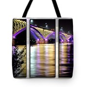 Peace Bridge 02 Triptych Series Tote Bag