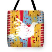 Peace Dove 2 Tote Bag by Carol Leigh