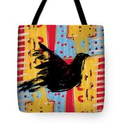 Peace Dove 3 Tote Bag