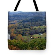Peace In The Valley Tote Bag