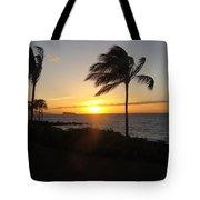 Peace On Maui Tote Bag