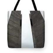 Peace Tower Tote Bag