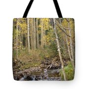 Peaceful Aspens Tote Bag