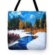 Peaceful Creek 2012 Tote Bag