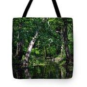 Peaceful Creek Tote Bag